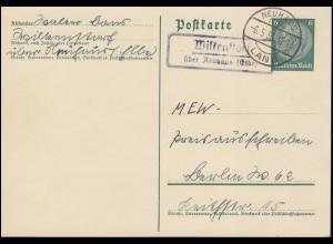 Guatemala Ganzsache Postkarte 3 Cent. Quetzaltenango 8.8.99 über Recisida 13.8.