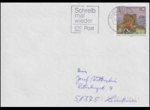 USo 1 Bad Frankenhausen, Werbestempel Schreib mal wieder BZ 20 - 22.11.98