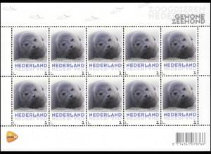 3062 Meine Marke 2013 - Tiere Seehund Gewone Zeehond, Folienblatt **