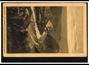 AM-Post 6 Pf. MeF auf Briefvorderseite ESENS / OSTFRIESLAND 4.5.1946