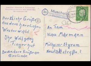 170a Sitzende EF Einzugsmandat / NN-Einschreiben WÄDENSWIL 23.3.1922