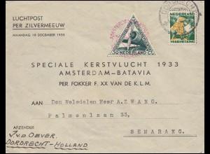 Jugoslawien 385-388 Schiffe / Postkongress mit Zusatfr. R-Brief ODZACI 24.9.1939