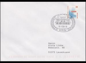 Elektrifizierung München-Garmisch & E-Lok EP 2, SSt München 17.3.2000