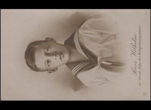 Foto-AK Prinz Wilhelm, der älteste Sohn des Kronprinzenpaares, ungebraucht