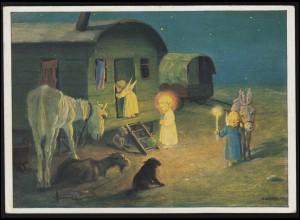 Gebühr-bezahlt-Stempel Drucksache Magdeburg 8.9.23 nach Amsterdam