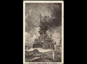 Linienschiff Kaiser Wilhelm II, Kaldenkirchen 23.2.15
