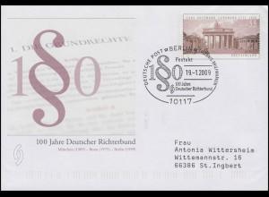 USo 174 Deutscher Richterbund, SSt Berlin Festakt Paragraphenzeichen 19.1.2009