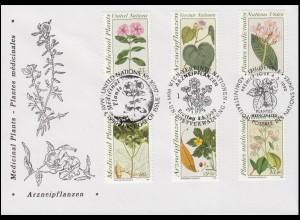 433ff 29. Juli 1944 Viererblock links aus Bl.3 auf Schmuck-R-FDC ESSt Bonn 1964