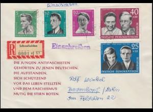 Germania-Mischfrankatur auf Brief WEIMAR-Nationalversammlung 26.7.19 nach Berlin