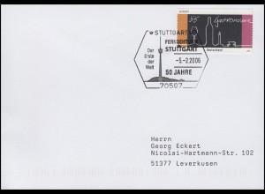Der Erste der Welt Fernsehturm Stuttgart EF Bf SSt Stuttgart 50 Jahre 5.2.2006