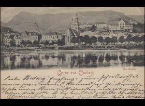 Ansichtskarte Gruss aus Cochem - Das Kloster, COCHEM 31.12.1899