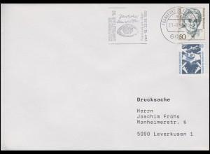 Deutscher Umwelttag Globus Frankfurt/Main 1992, Drucksache Frankfurt/M. 21.8.92