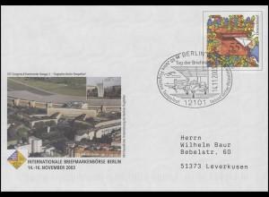 USo 66 Börse Berlin, mit SSt Berlin Flugzeuge & Flughafen Tempelhof 14.11.2003