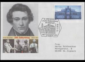 USo 84 Ernst Rietschel Bildhauer, SSt Dresden Wiedereröffnung Semperoper 13.2.10