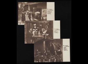 Set Film Sterne 533/534 Trompeter v. Säkkingen EISO Film Berlin NBC ungebraucht
