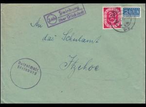 Kurier-Brief vom Reichskanzler an den Reichsminister des Innern, um 1933