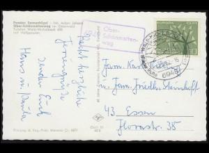 142 Germania 15 Pf als EF auf Drucksache BERLIN REICHSTAG 9.8.21 an Reichsboten