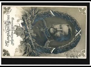 AK Generalfeldmarschall von Hindenburg - Bildnis, POTSCHAPPEL 24.4.16