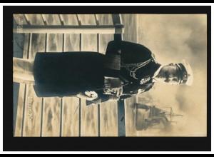 AK Kaiser Wilhelm II. - Unser Kaiser an Bord eines Schiffes, BERLIN 24.12.1914