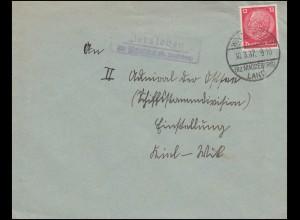 Frei durch Ablösung Reichsinstitut Forstwirtschaft Brief SSt REINBECK 28.5.1942