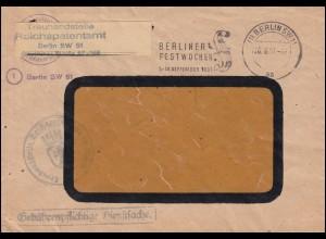 Gebührenpflichtige Dienstsache Treuhandstelle Reichspatentamt BERLIN 26.6.1951