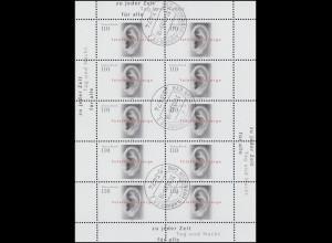 Plusbrief USo 9 Deutschland R-FDC ESSt Bonn 50 Jahre Bundesrepublik 21.5.99 + BZ