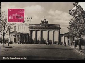 263x Heuss 70 Pf EF R-Brief Oberhausen Rheinland 1 - 11.4.59 nach Wiesbaden