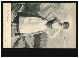Hindenburg-MiF 4 + 6 Pf Briefvorderseite DUISBURG-RUHRORT 12.12.34 nach Lüttich