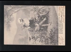 649-654 Caritas - Prinz Henri, 6 Werte, Satz auf FDC LUXEMBOURG 4.12.1961
