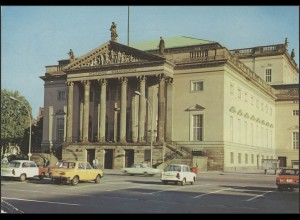 Ansichtskarte Berlin: Deutsche Staatsoper, Berlin 20.10.1989