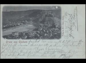 Ansichtskarte Gruss aus COCHEM 12.4.1899
