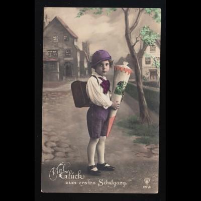 Luxemburg 703-708 Caritas Kinderzeichnungen Stadtansichten Schmuck-FDC 7.12.1964