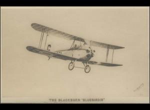 The Blackburn Bluebird III - Ansichtskarte, nicht gelaufen