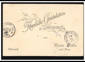 Deutsche Mark Messe München, Bund 1904 SSt München Ludwig Erhard 12.3.98