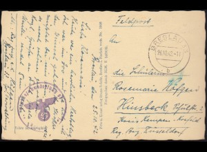 532 Rotfuchs Randstück mit Farbrandstreifen + 531 MiF R-Brief HOFHEIM 20.6.67