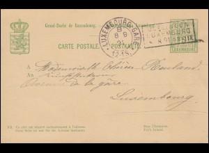 Deutsche Marine-Schiffspost Nr. 138 - 26.8.1916 SMS König auf Brief nach Kiel