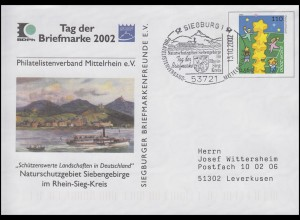 USo 20 II Naturschutzgebiet Siebengebirge SSt Siegburg T.d.B.& Schiff 13.10.2002