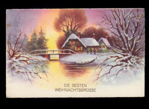 Postkarte PSo 2 Bundestag 1949, Sonderstempel Nürnberg Bauausstellung DBA 9.9.49