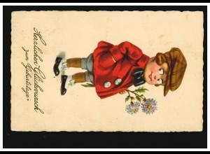 Schweiz Poststelle ENGSTLENALP / BERN auf AK Alpen MEIRINGEN 22.8.1905