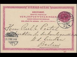 Berlin 110-111 Volksaufstand + 115 Reuter + 116 Konferenz, Umschlag SSt HANNOVER
