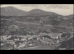 Frankreich Ansichtskarte Le Mont-Dore Panorama, Paar 116 MONT-DORE / DOME 1918