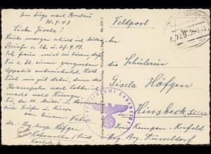 Gedenkblatt Weltpost-Kongress Hamburg 1984: Marshall-Inseln Kolonialmarken, SSt