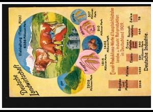103-105 Hannover Messe 1949 mit 10 Pf Quetschfalte Lp.-R-Brief DÜSSELDORF 6.9.49