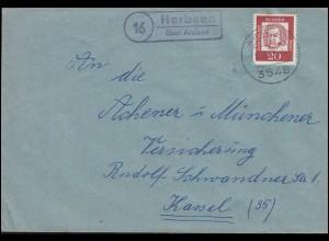 Faltkarte Neues Schloß Stuttgart, Bund 1910, SSt Stuttgart HAFA 18.11.95