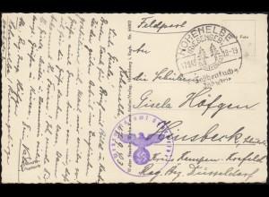 Gebühr-Bezahlt-Stempel Brief Formularverlag Eberswalde 2.11.45 nach Berlin