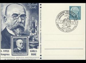 PP 6/4 FIPCO Medizin Robert Koch passender SSt Karlsruhe Therapiewochen 1.9.54