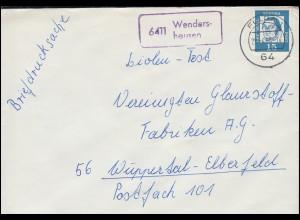 Portofreiheitsmarke 4I Alpenrose EF Brief Armen-Erziehungs-Verein BRUGG 17.12.13
