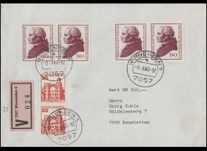 Dänemark 4 Freimarke 4 S EF auf komplettem Faltbrief BAHNHOF HUSUM 23.7.1855