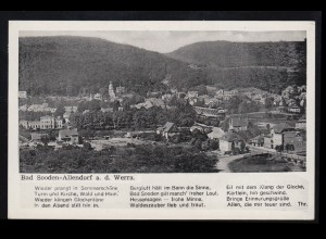 Postkarte 5 Pf. Ziffer violett Rahmenstempel STOLBERG / HARZ 6.7.78 nach Einbeck