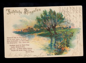 322-325 Märchen Sterntaler Brüder Grimm auf Postkarte mit ESSt Bonn 1.10.1959
